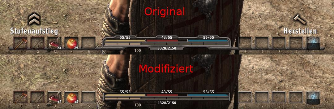 Просмотров:2370. Модификация интерфейса игры Arcania: Gothic 4 (Готика 4: